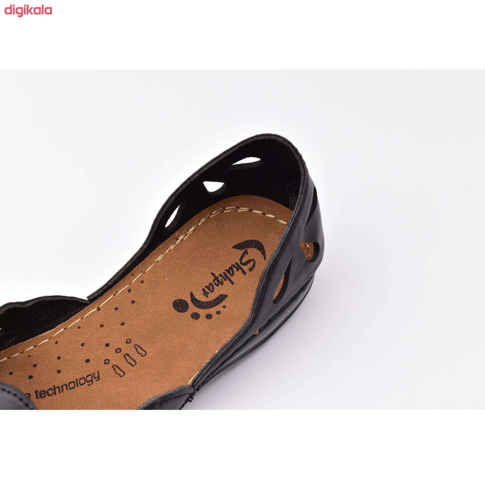 کفش زنانه شهپر مدل رویا 109 کد 7187 main 1 5