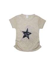 ست تیشرت و شلوارک دخترانه طرح ستاره کد ۱۳۶۱ -  - 3