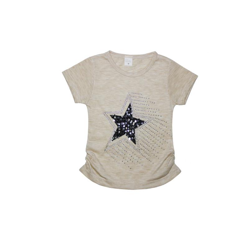 ست تیشرت و شلوارک دخترانه طرح ستاره کد ۱۳۶۱