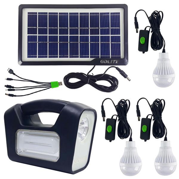 سیستم روشنایی خورشیدی جی دی لایت مدل GD-3