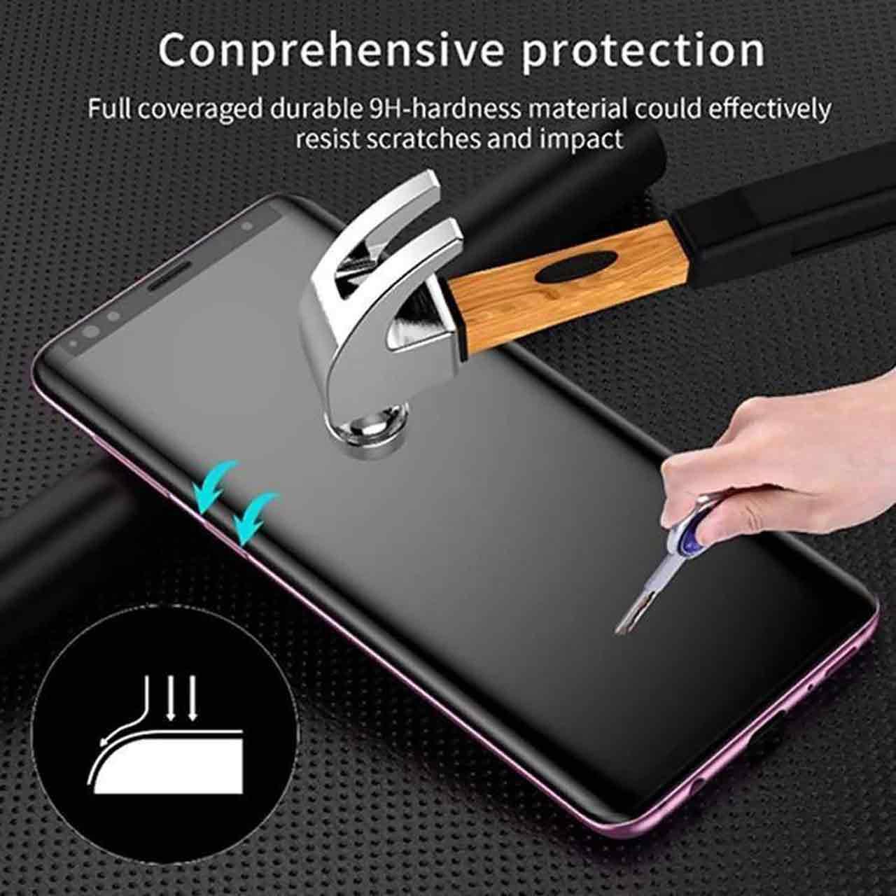 محافظ صفحه نمایش یووی لایت پنتاکس مدل UPRO مناسب برای گوشی موبایل شیائومی Mi Note 10 pro              ( قیمت و خرید)