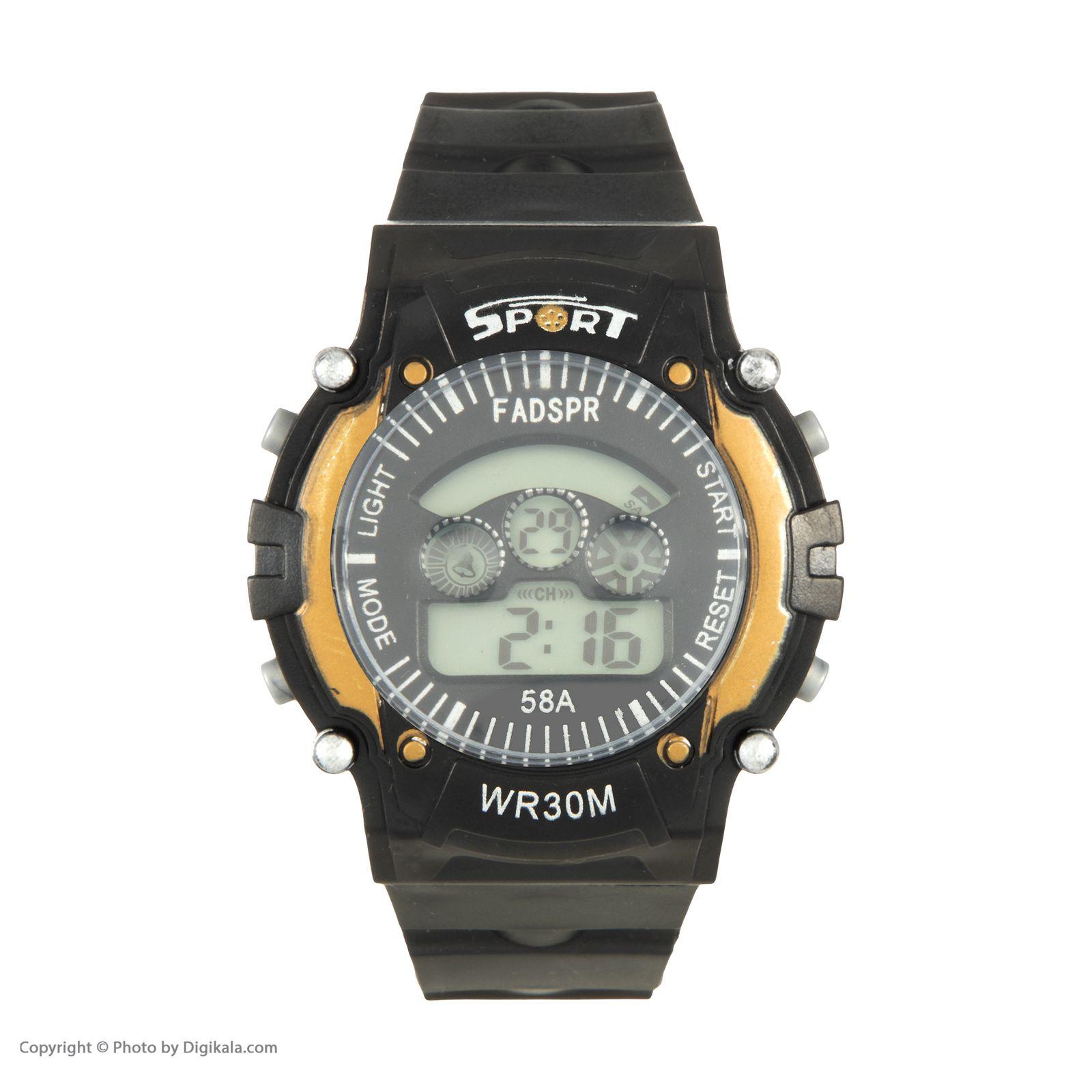 ساعت مچی دیجیتال مدل sport 8030e -  - 3
