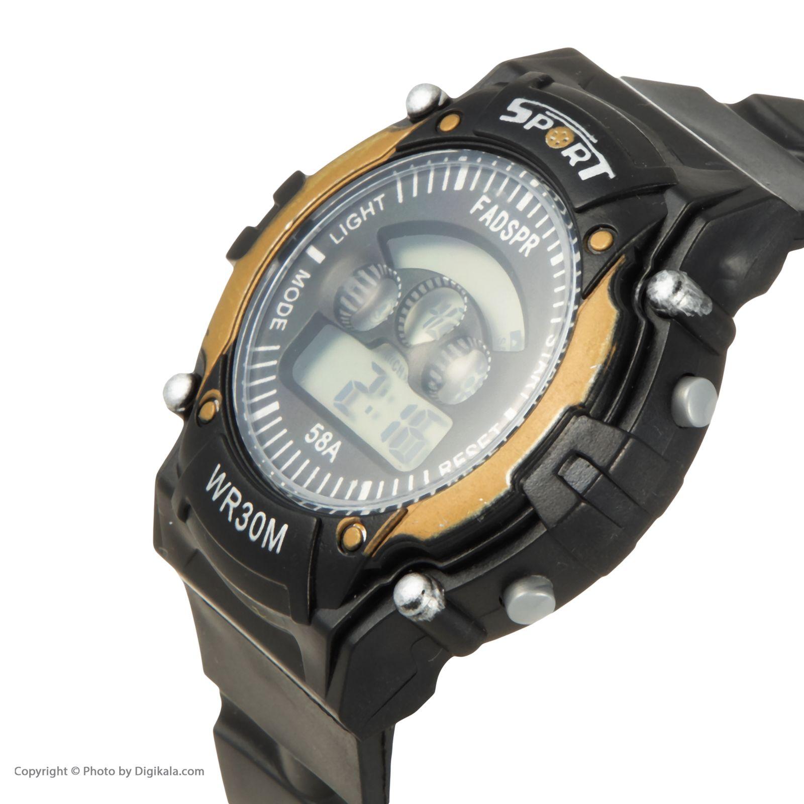 ساعت مچی دیجیتال مدل sport 8030e -  - 4