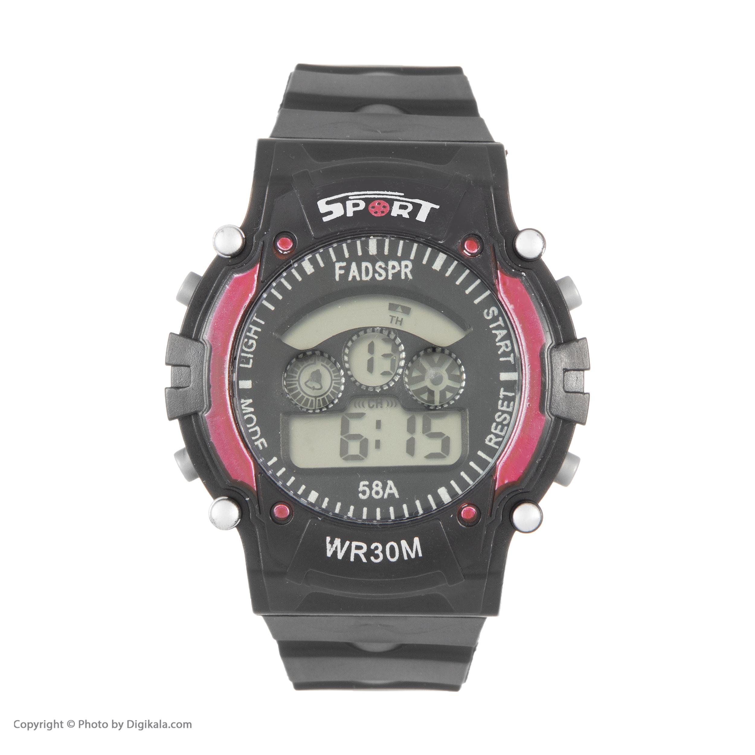 ساعت مچی دیجیتال مدل sport 8030f             قیمت