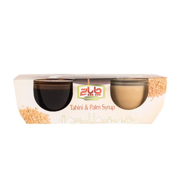 ارده و شیره خرما چاپاتی - 220 گرم بسته 2 عددی