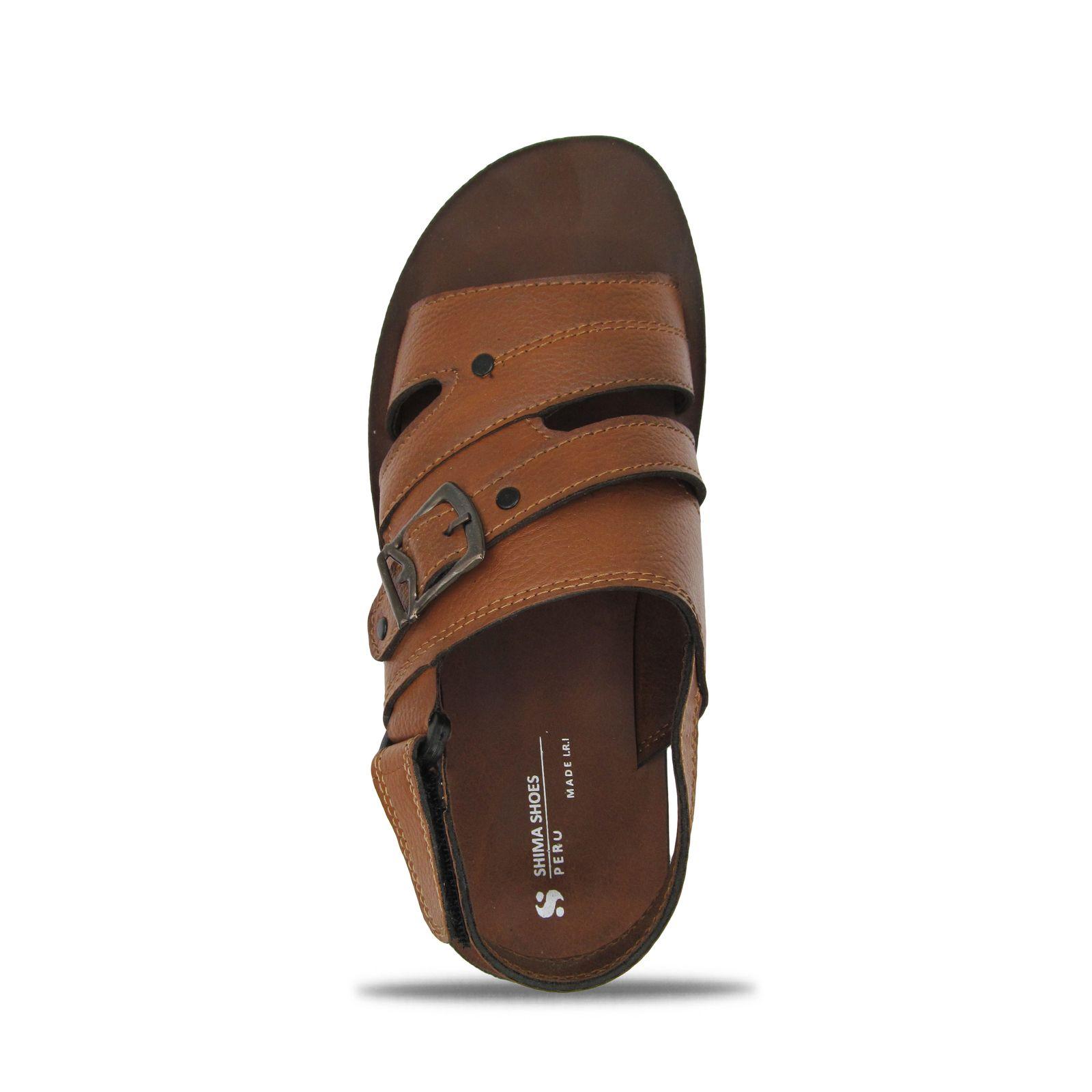 صندل مردانه کفش شیما مدل پرو کد 1807 -  - 5