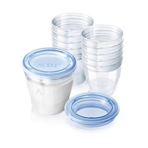 بطری ذخیره شیر اونت حجم 180 میلی لیتر بسته 10 عددی