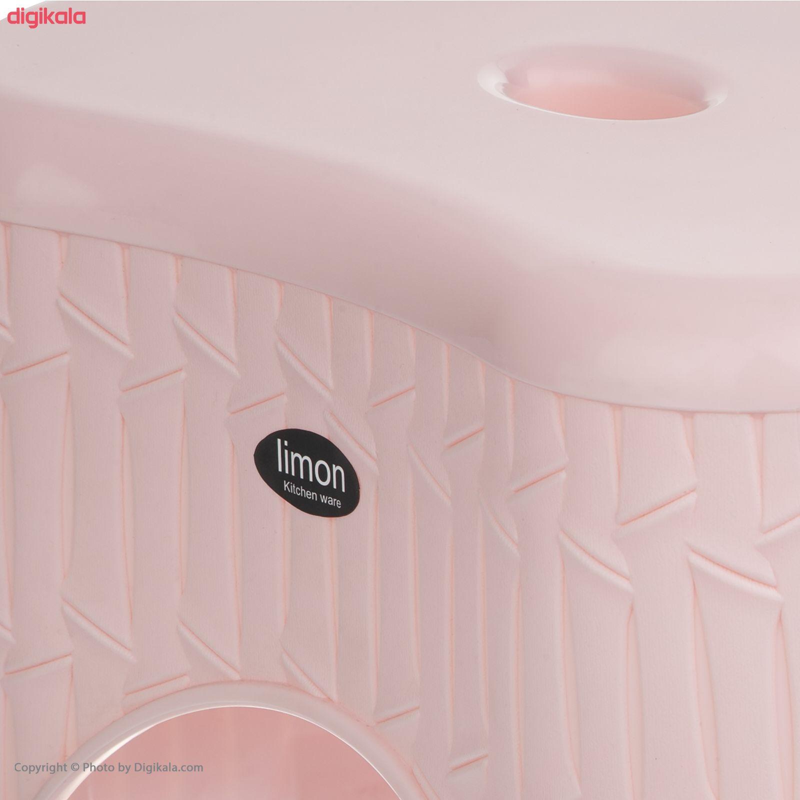 چهارپایه حمام لیمون مدل بامبو کد 01 main 1 2