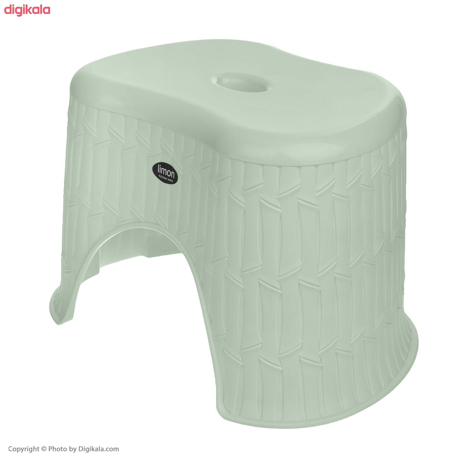 چهارپایه حمام لیمون مدل بامبو کد 01 main 1 4