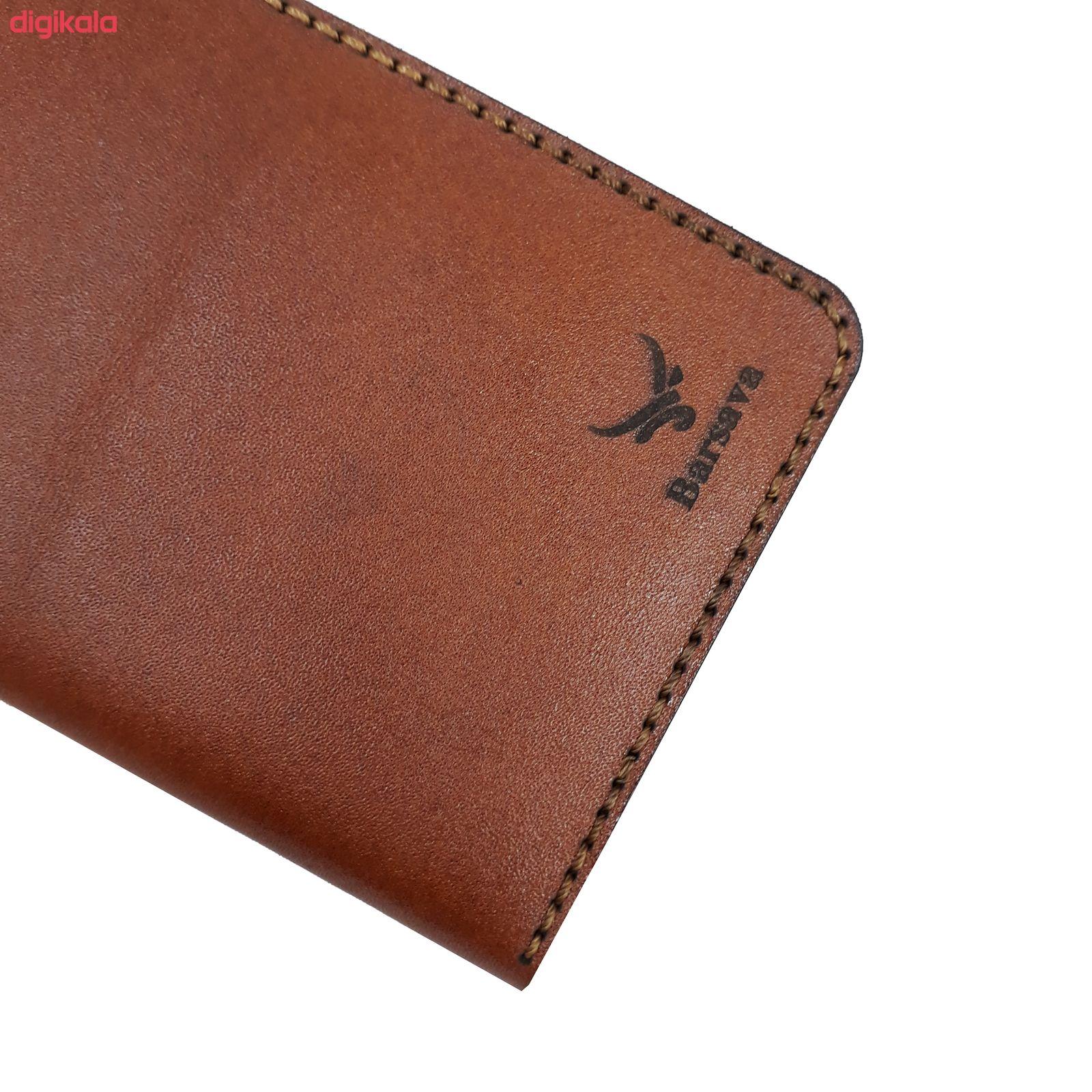 کیف پول مردانه چرم بارثاوا مدل1501B main 1 2