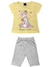ست تی شرت و شلوارک دخترانه کد 7787911 -  - 2