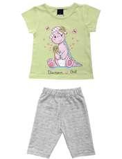 ست تی شرت و شلوارک دخترانه کد 7787912 -  - 1