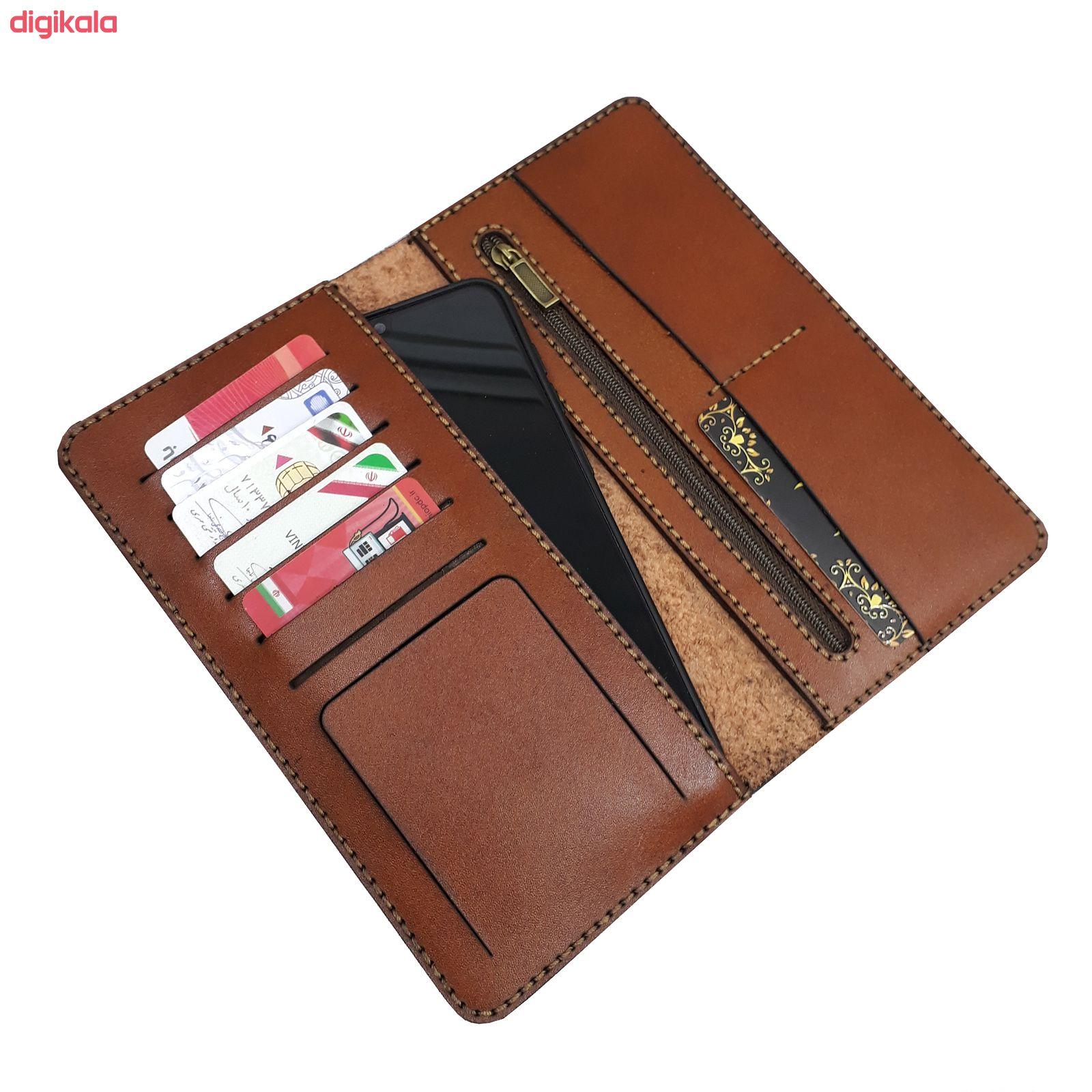 کیف پول مردانه چرم بارثاوا مدل1501B main 1 4