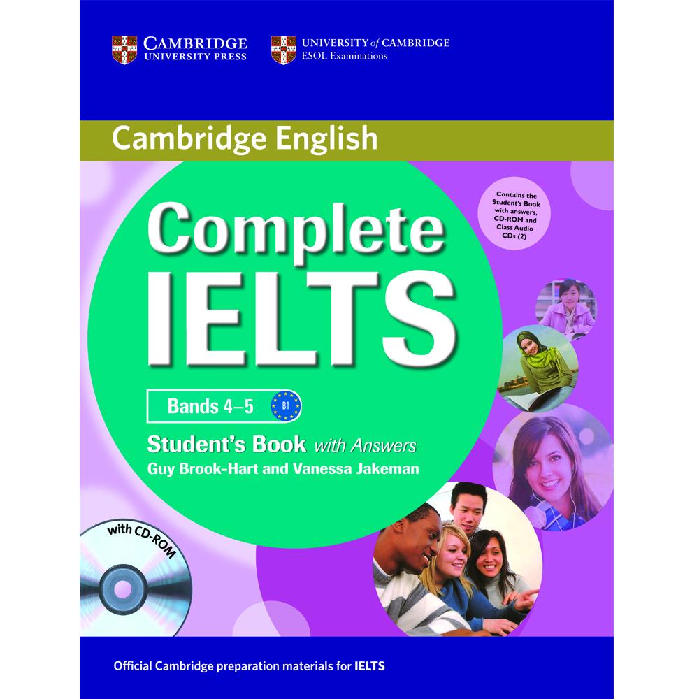 خرید                      کتاب  Cambridge English Complete Bands 4-5 Student Book B1  اثر Guy Brook- Hart And Vanessa Jakeman انتشارات Cambridge
