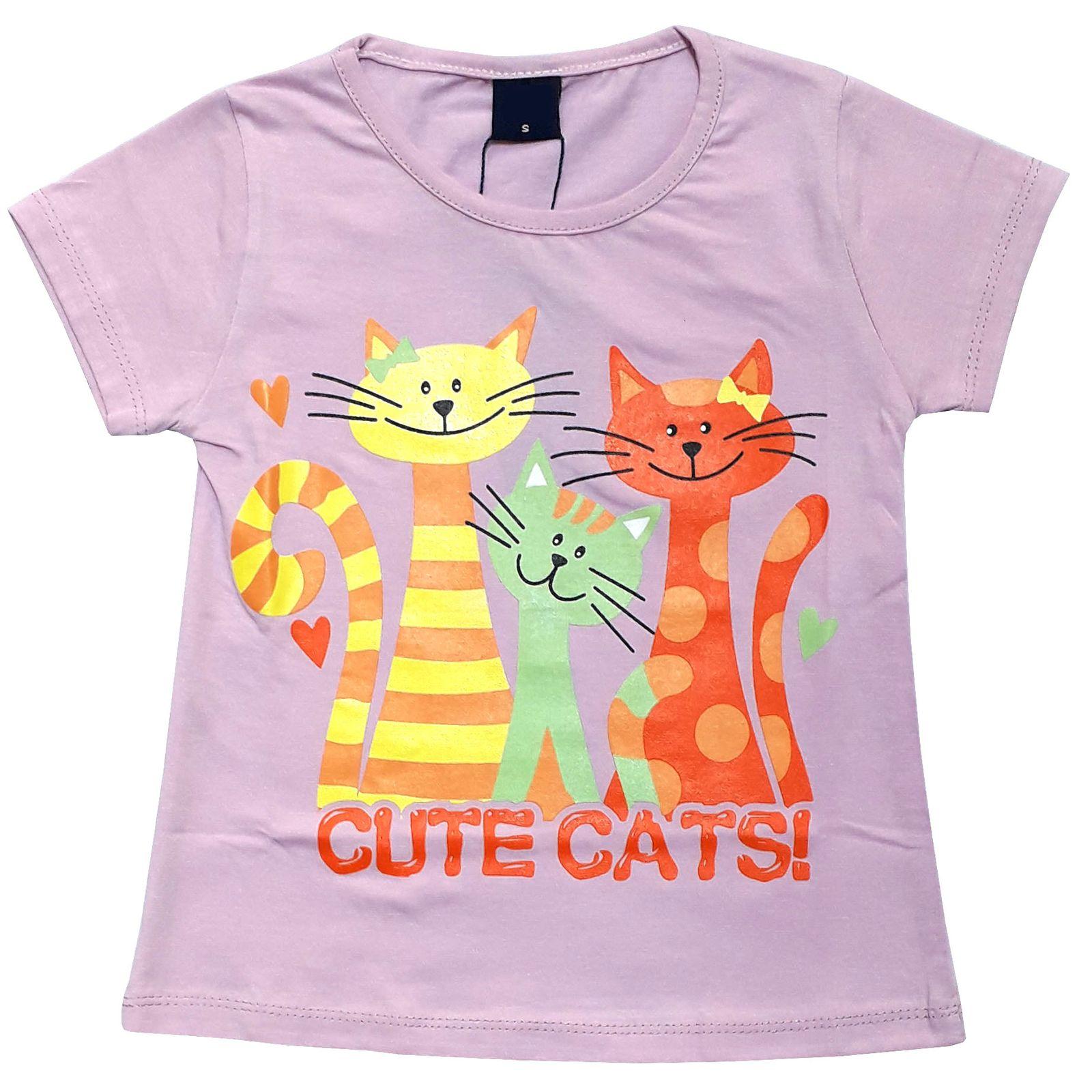 ست تی شرت و شلوارک دخترانه کد 7787924 -  - 6