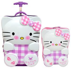 چمدان کودک مدل HE 700476 - 1 به همراه کوله پشتی