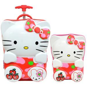 چمدان کودک مدل HE 700476 - 2 به همراه کوله پشتی