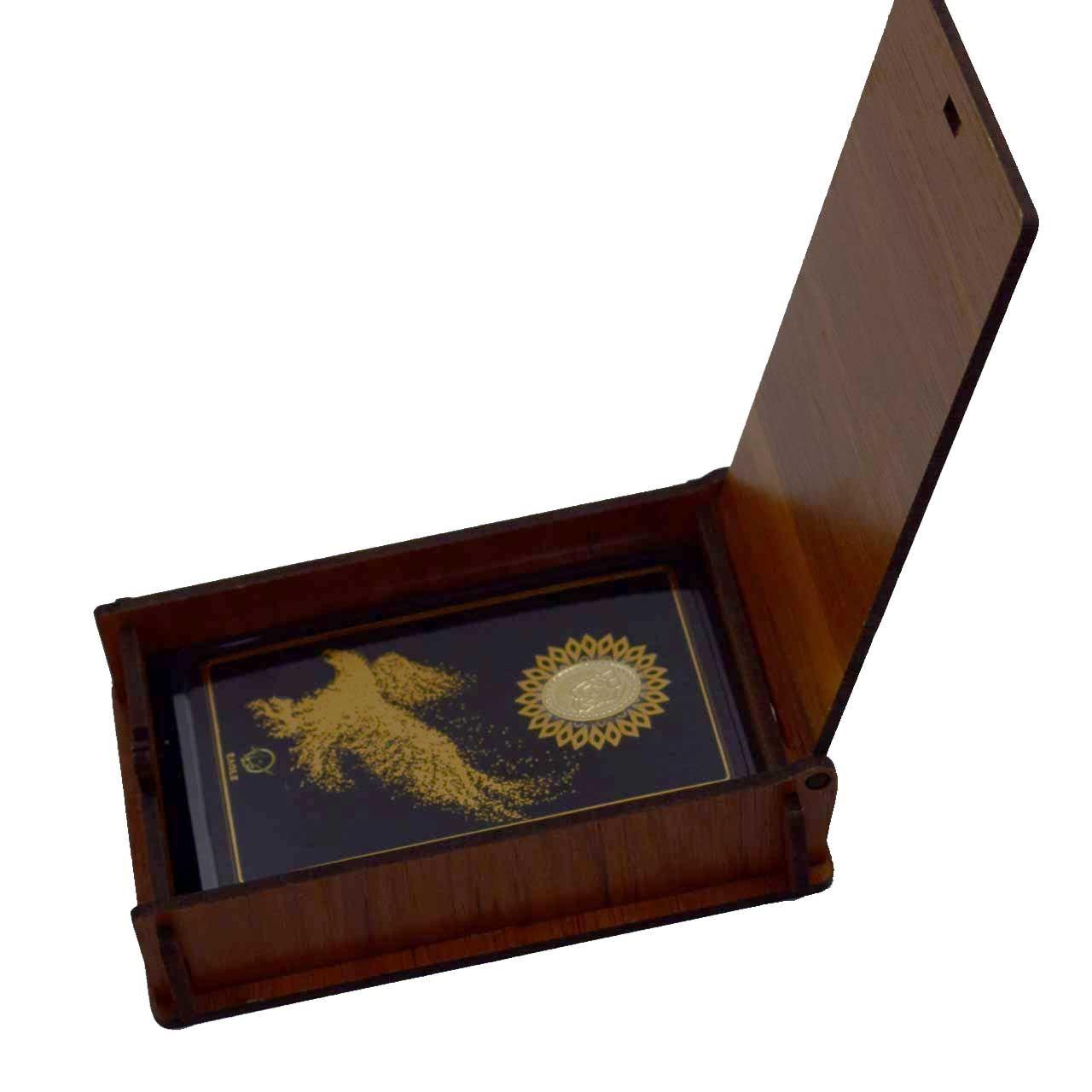 طلا گرمی 18 عیار کانیار گالری طرح عقاب کد 44 -  - 4