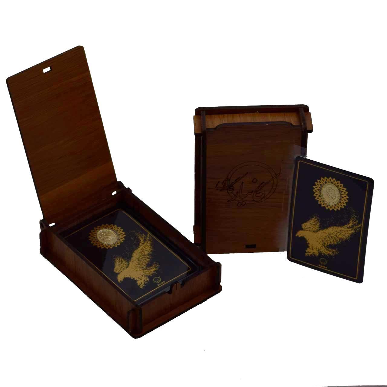 طلا گرمی 18 عیار کانیار گالری طرح عقاب کد 44 -  - 5