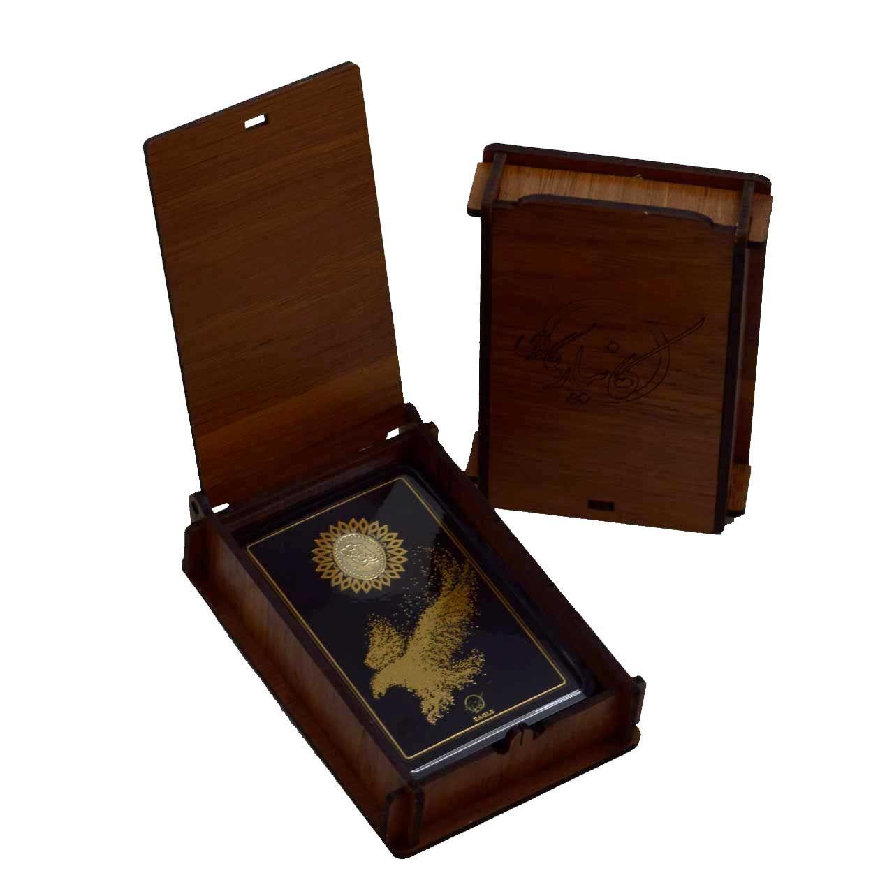طلا گرمی 18 عیار کانیار گالری طرح عقاب کد 44 -  - 6