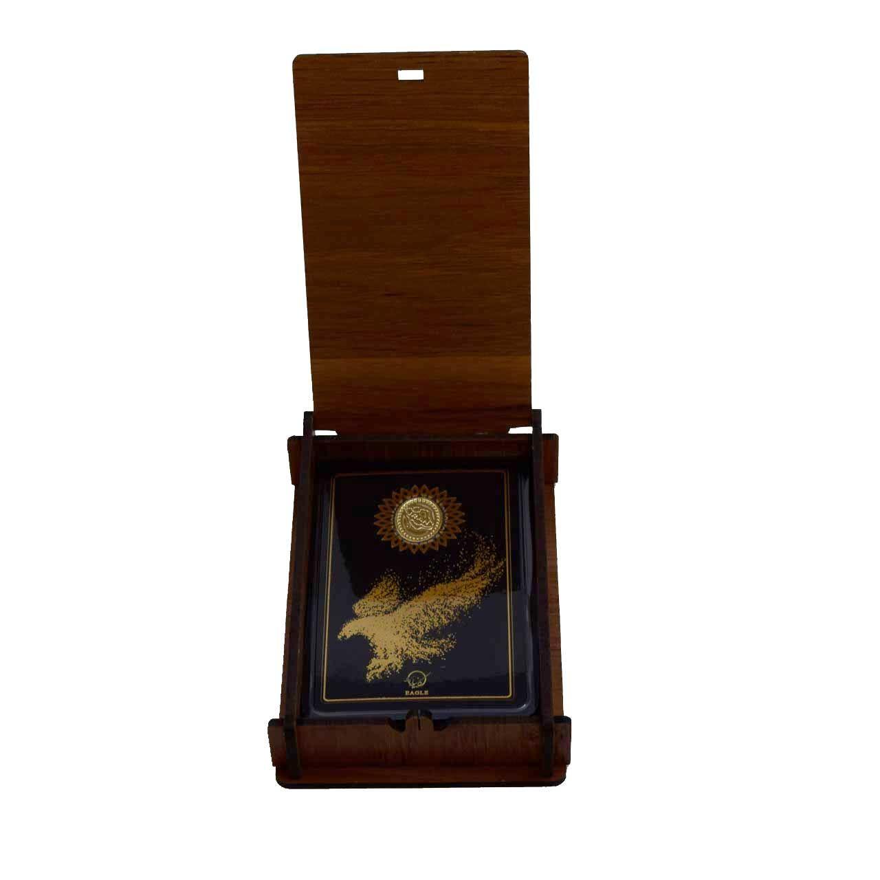 طلا گرمی 18 عیار کانیار گالری طرح عقاب کد 44 -  - 7
