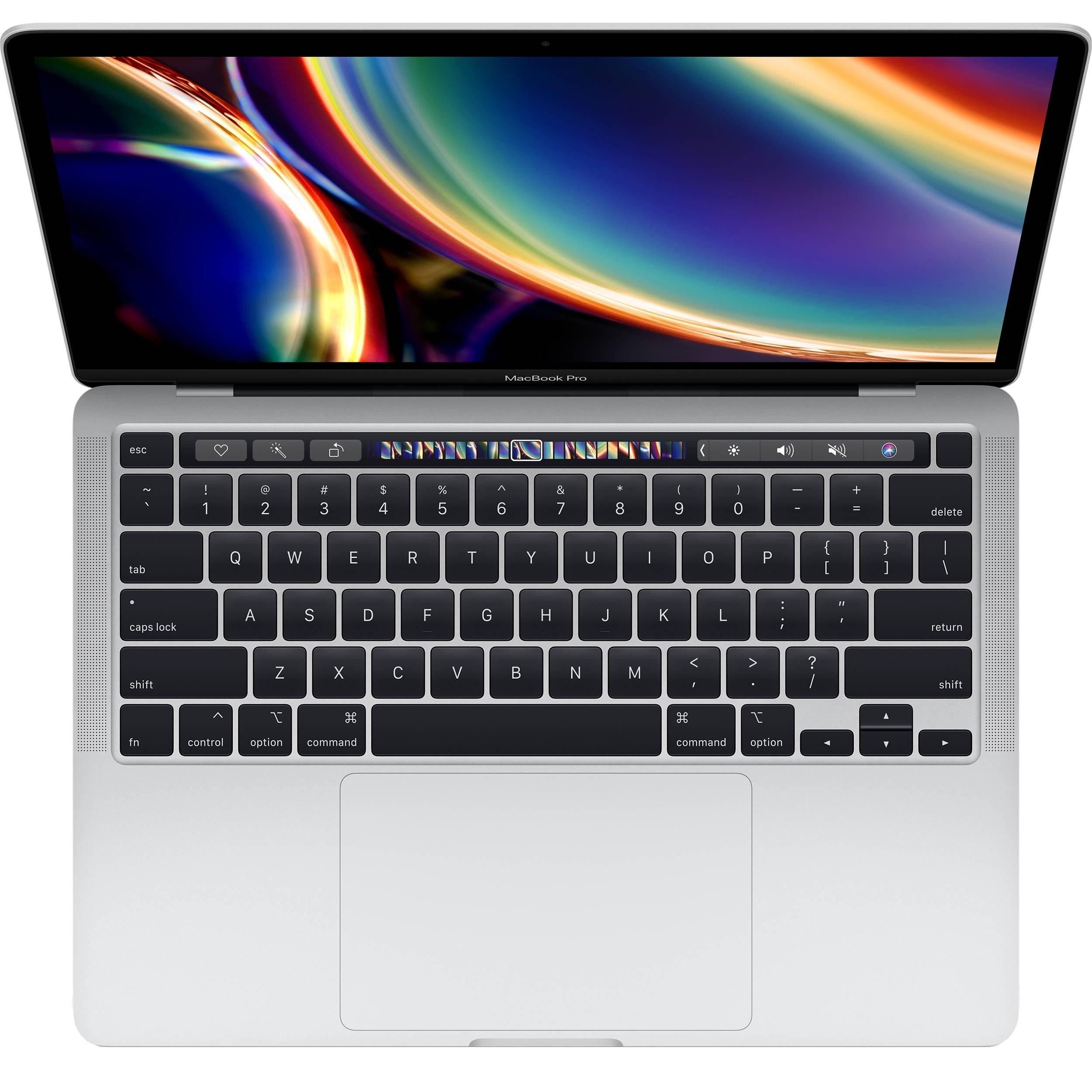 لپ تاپ 13 اینچی اپل مدل MacBook Pro MWP72 2020 همراه با تاچ بار