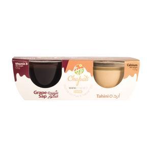 ارده و شیره انگور چاپاتی - 220 گرم بسته 2 عددی