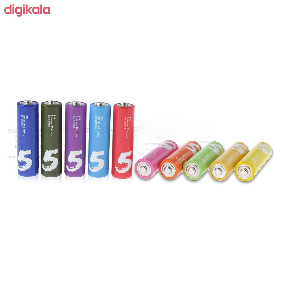 باتری قلمی و نیم قلمی آلکالاین شیاومی مدل ZI5  و ZI7 بسته 20 عددی main 1 6