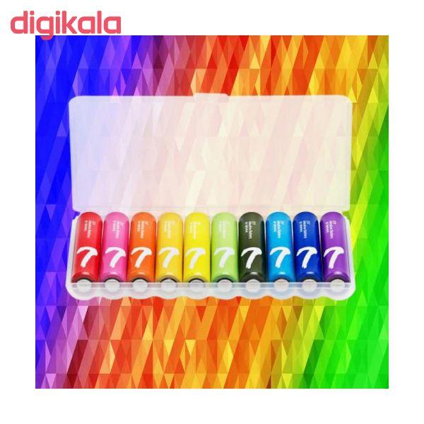 باتری قلمی و نیم قلمی آلکالاین شیاومی مدل ZI5  و ZI7 بسته 20 عددی main 1 7