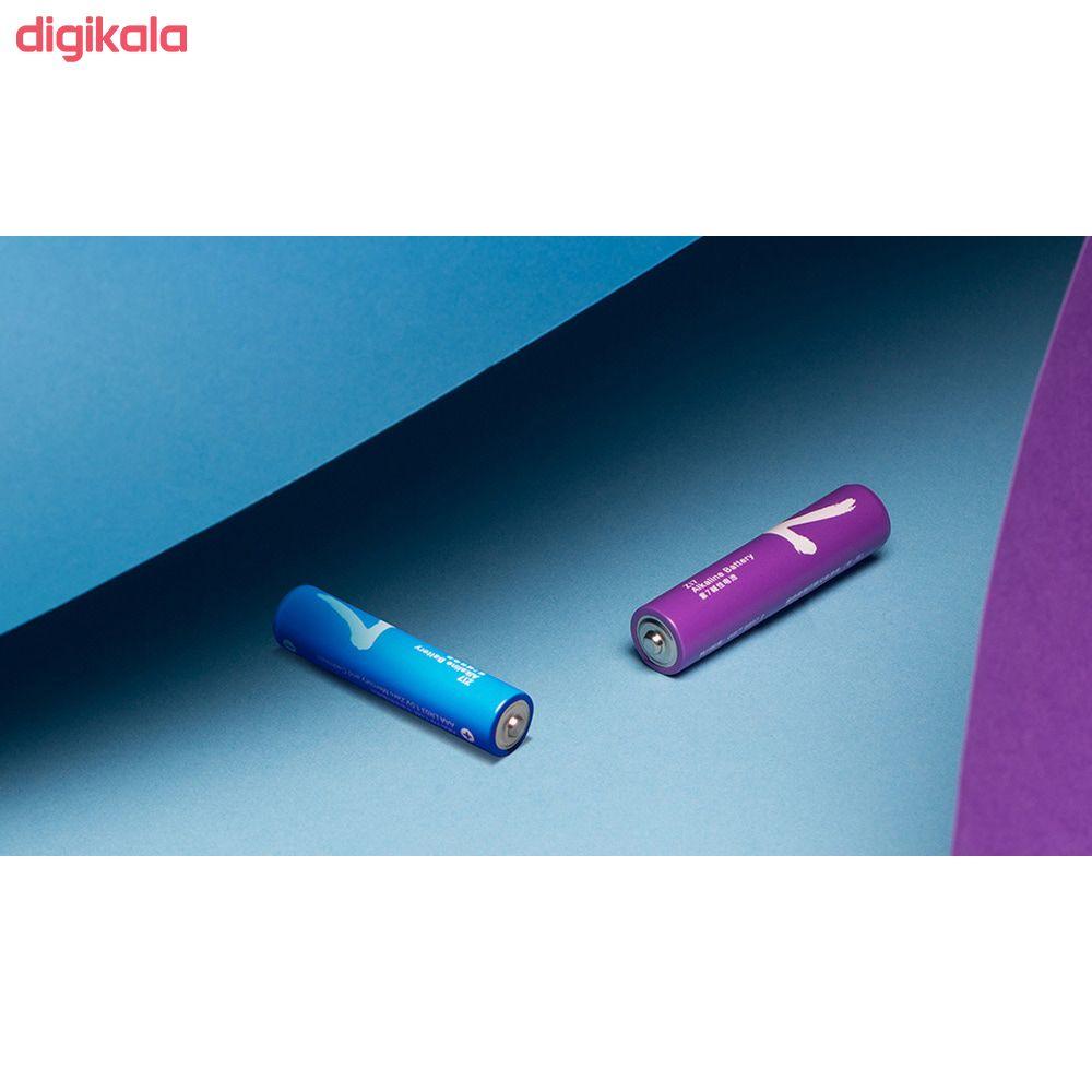 باتری قلمی و نیم قلمی آلکالاین شیاومی مدل ZI5  و ZI7 بسته 20 عددی main 1 8