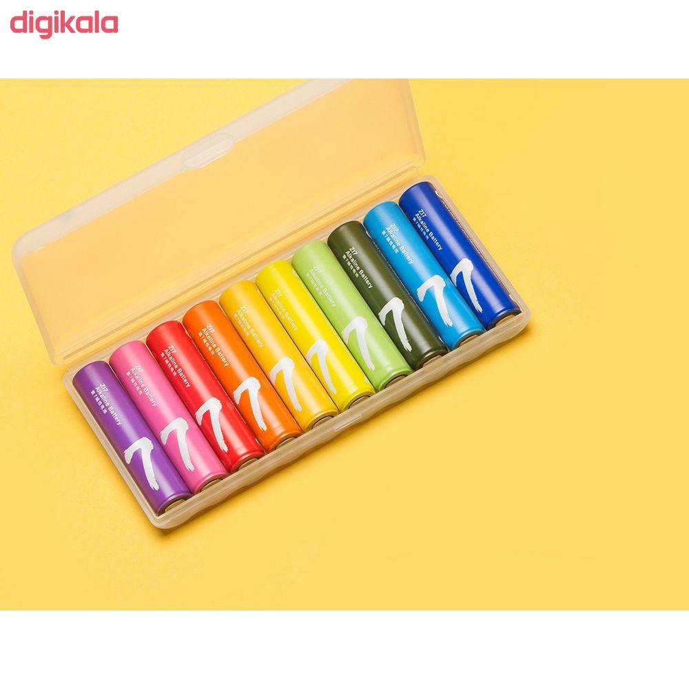 باتری قلمی و نیم قلمی آلکالاین شیاومی مدل ZI5  و ZI7 بسته 20 عددی main 1 9