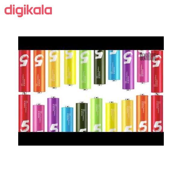 باتری قلمی و نیم قلمی آلکالاین شیاومی مدل ZI5  و ZI7 بسته 20 عددی main 1 10