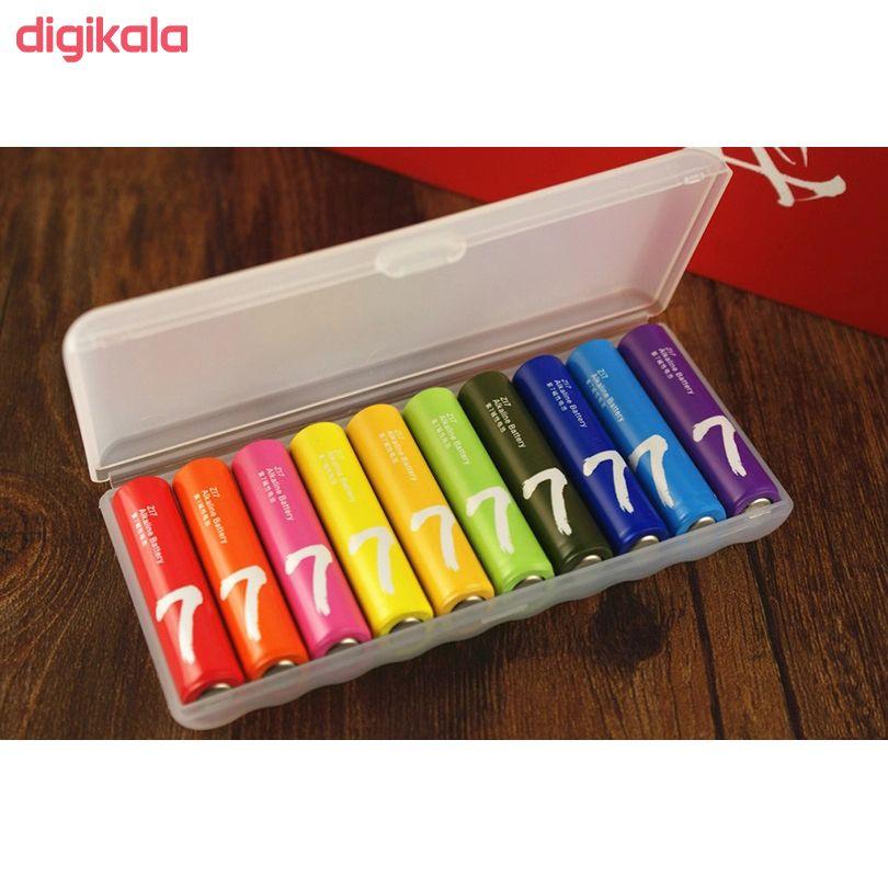 باتری قلمی و نیم قلمی آلکالاین شیاومی مدل ZI5  و ZI7 بسته 20 عددی main 1 13
