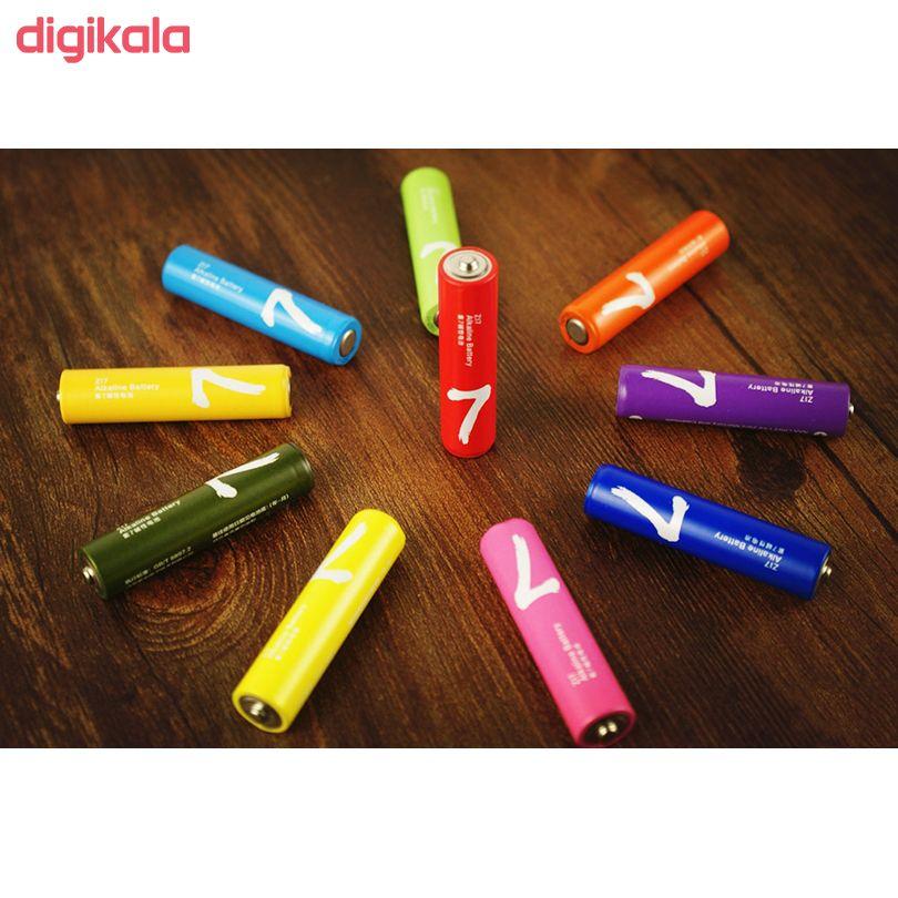 باتری قلمی و نیم قلمی آلکالاین شیاومی مدل ZI5  و ZI7 بسته 20 عددی main 1 14