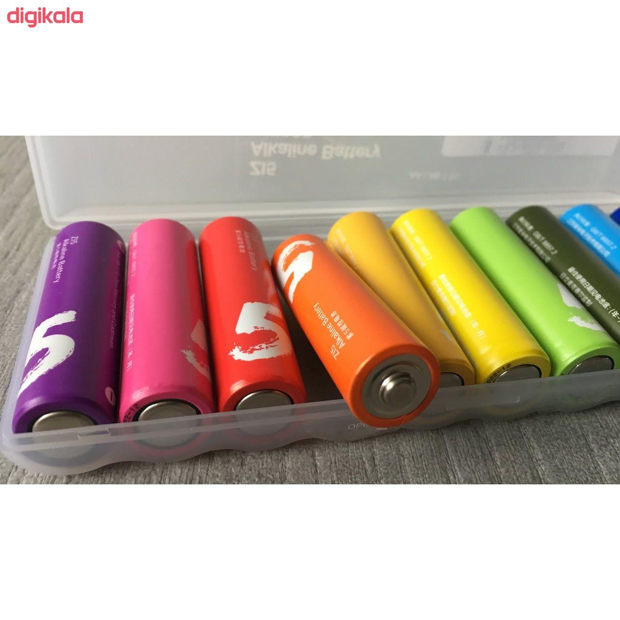 باتری قلمی و نیم قلمی آلکالاین شیاومی مدل ZI5  و ZI7 بسته 20 عددی main 1 17