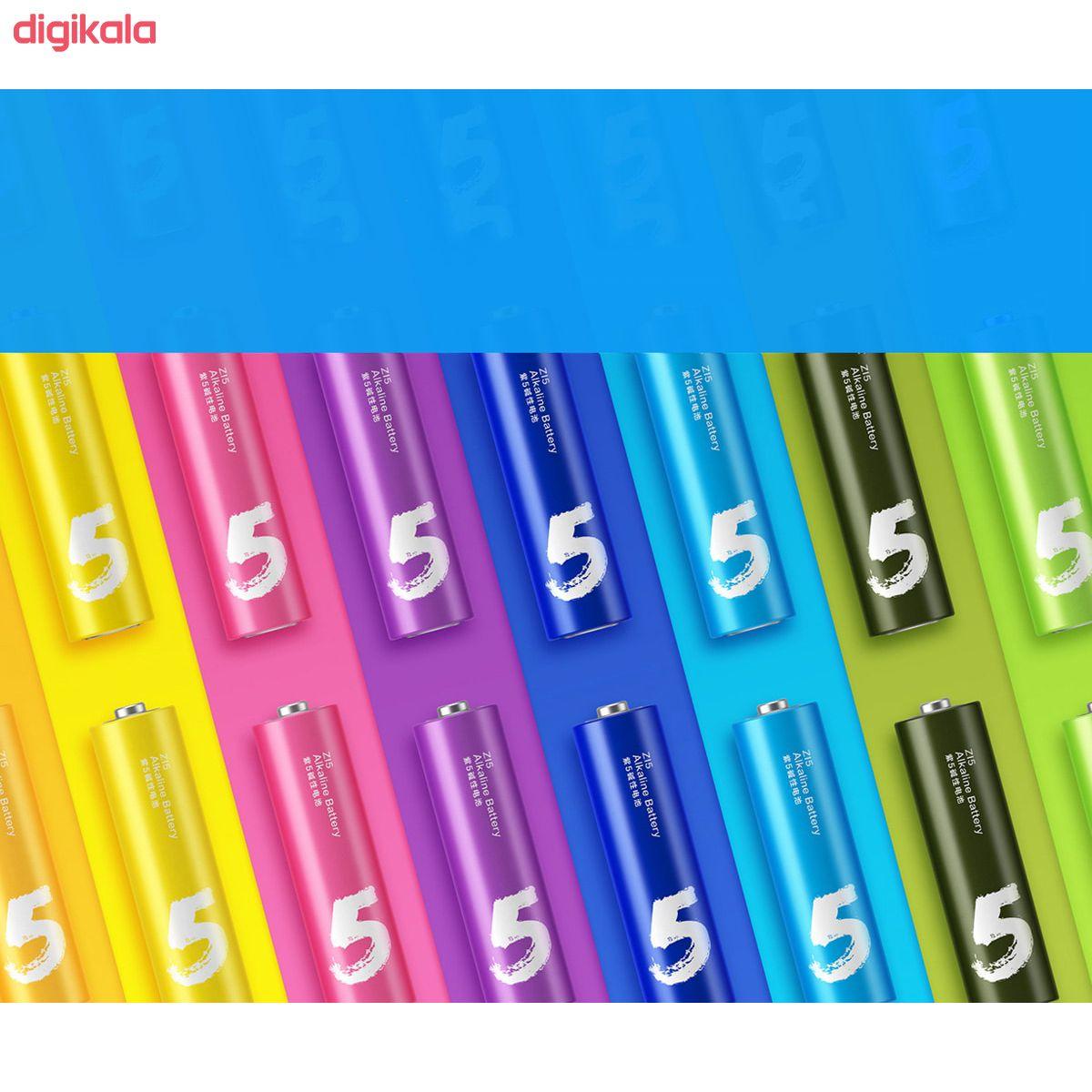 باتری قلمی و نیم قلمی آلکالاین شیاومی مدل ZI5  و ZI7 بسته 20 عددی main 1 21