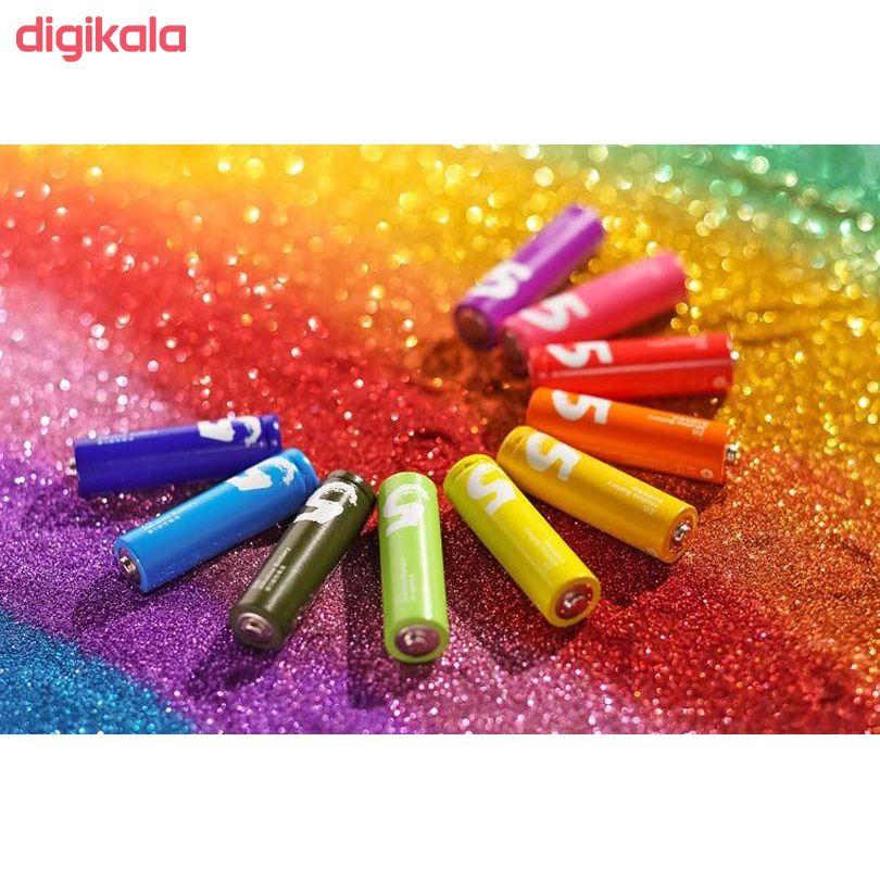 باتری قلمی و نیم قلمی آلکالاین شیاومی مدل ZI5  و ZI7 بسته 20 عددی main 1 23