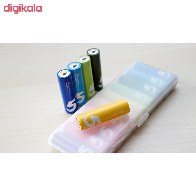 باتری قلمی و نیم قلمی آلکالاین شیاومی مدل ZI5  و ZI7 بسته 20 عددی main 1 24