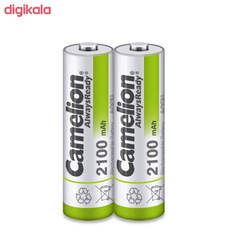 باتری قلمی قابل شارژ کملیون مدل AlwaysReady New Version با ظرفیت 2100 میلی آمپر ساعت بسته 2 عددی main 1 5