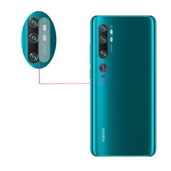 محافظ لنز دوربین مدل LTP مناسب برای گوشی موبایل شیائومی Mi Note 10