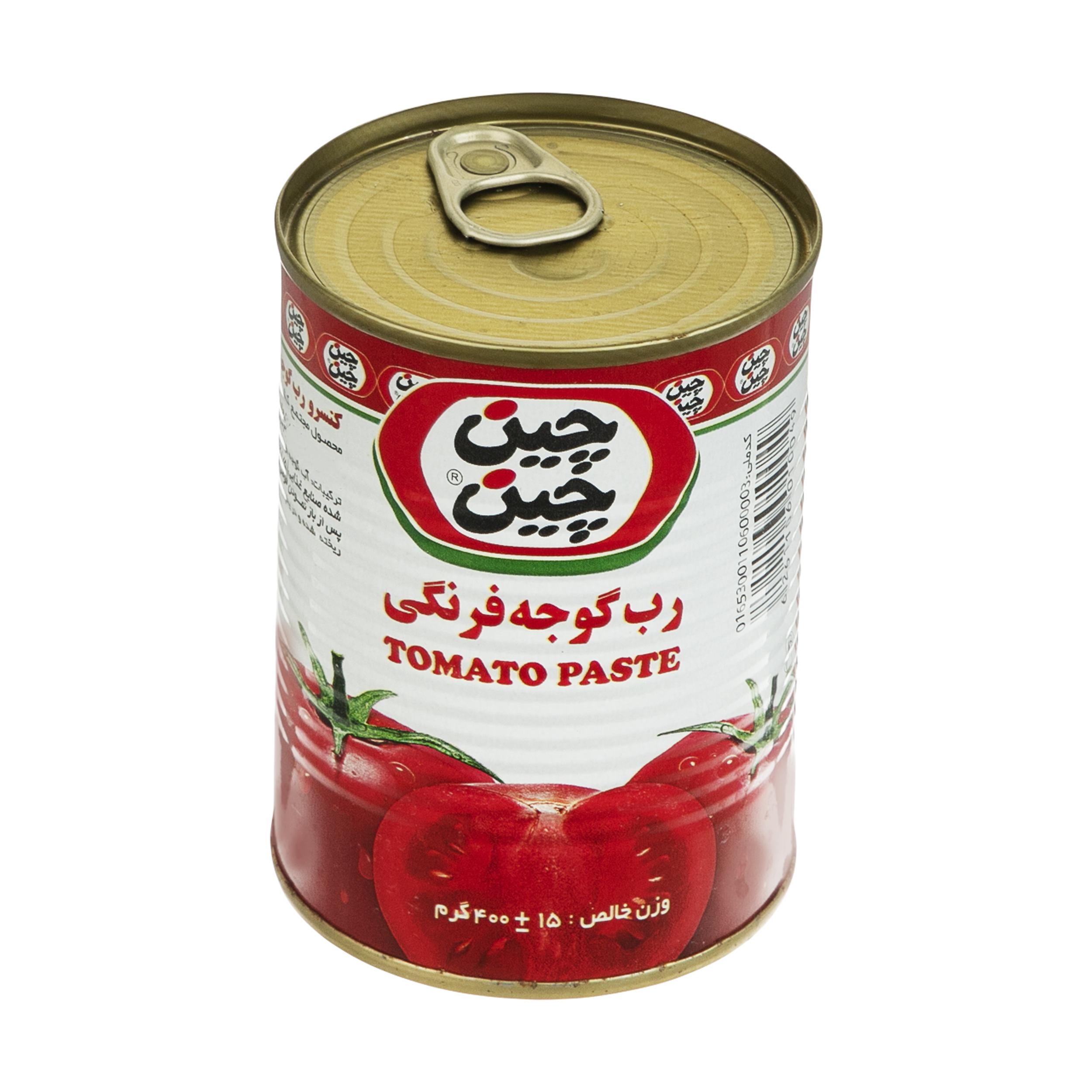 رب گوجه فرنگی چین چین - 400 گرم