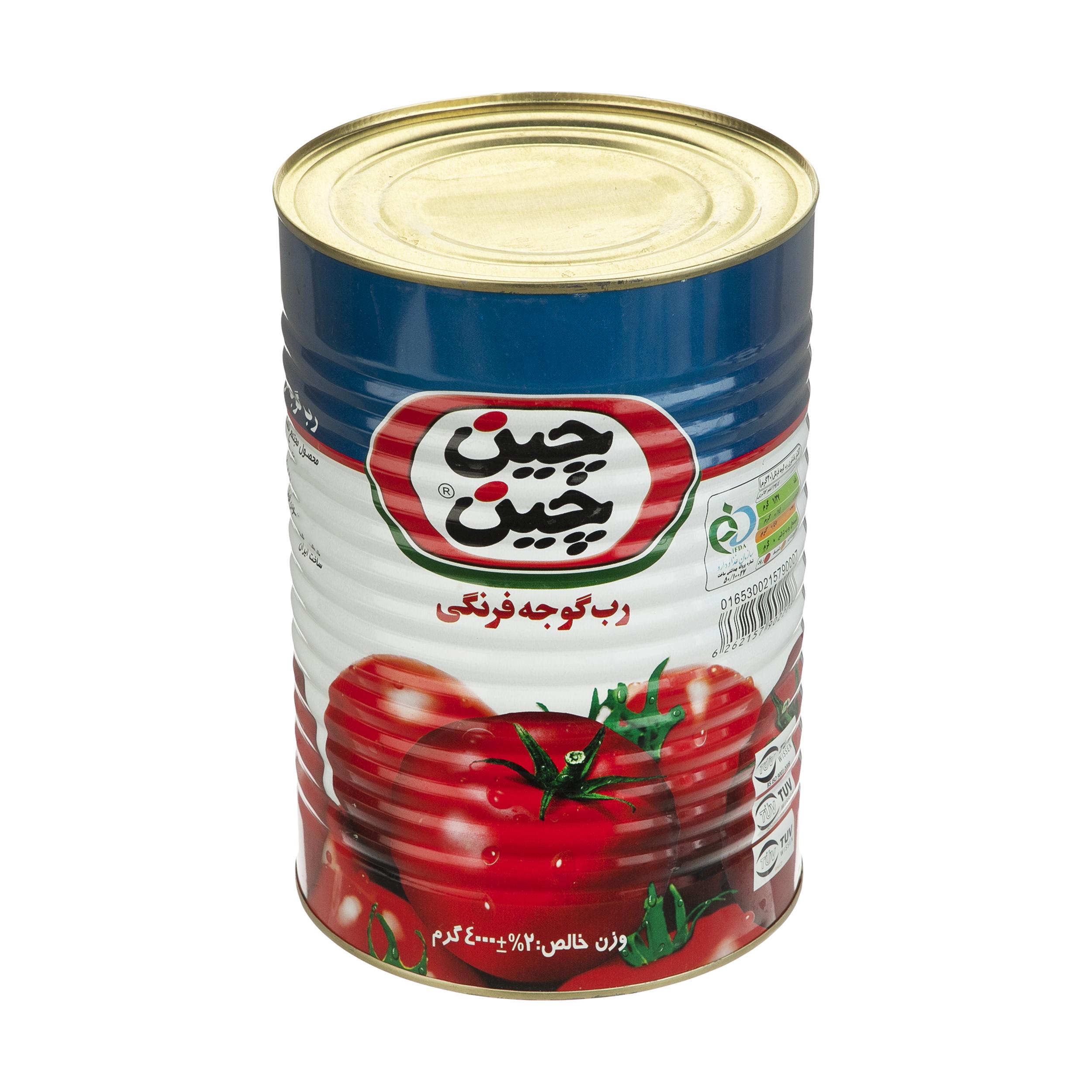 رب گوجه فرنگی چین چین - 4 کیلوگرم