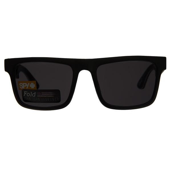 عینک آفتابی اسپای سری The Fold مدل Matte Black Gray