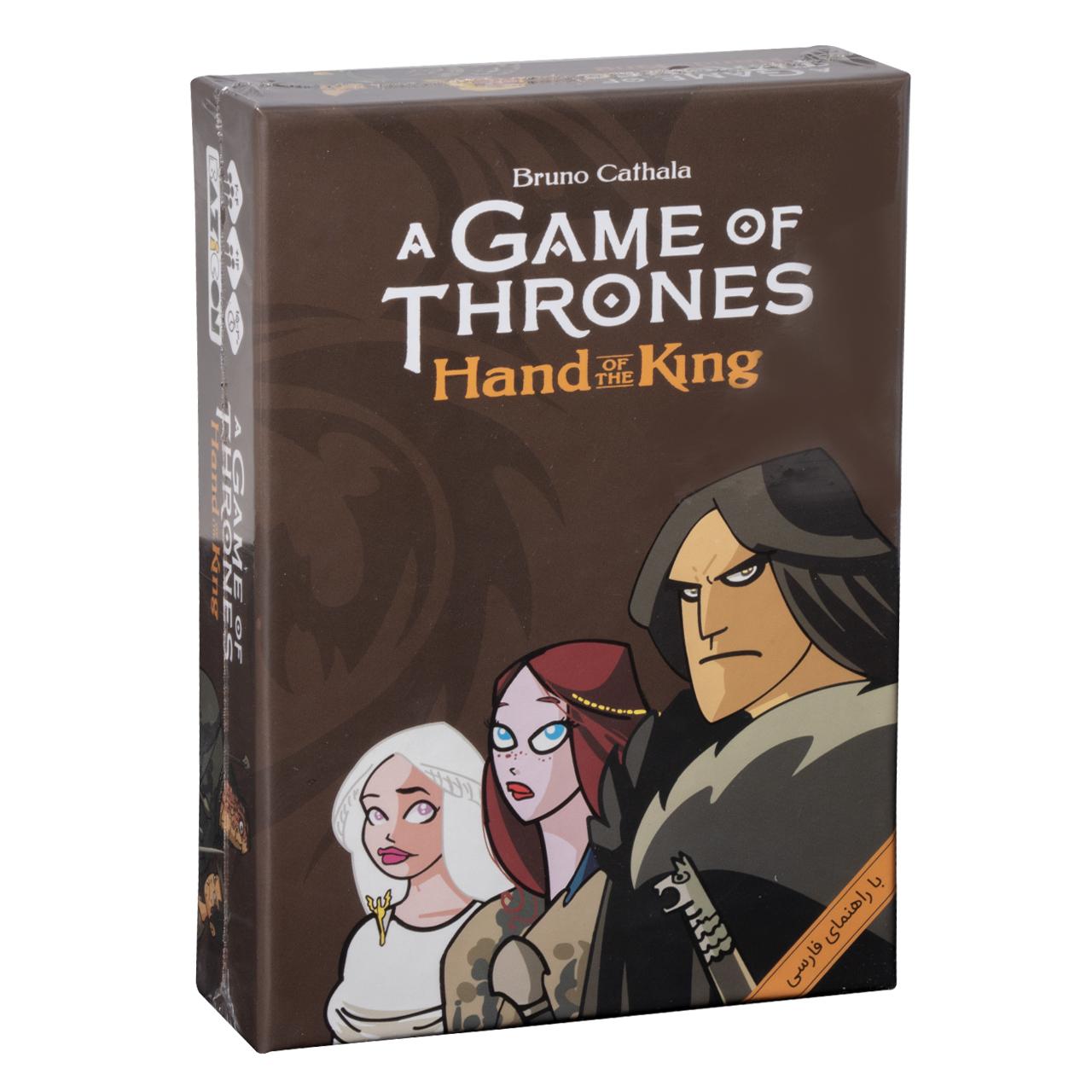 بازی فکری بازی کن مدل تاج و تخت Hand Of The King