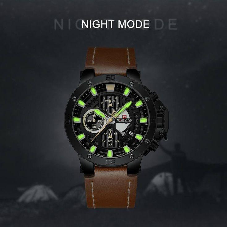 ساعت مچی عقربه ای مردانه نیوی فورس مدل NF9159 BYBN -  - 7