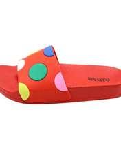 دمپایی دخترانه نیکتا مدل 304 کد L1-EsmarT3 رنگ قرمز -  - 1