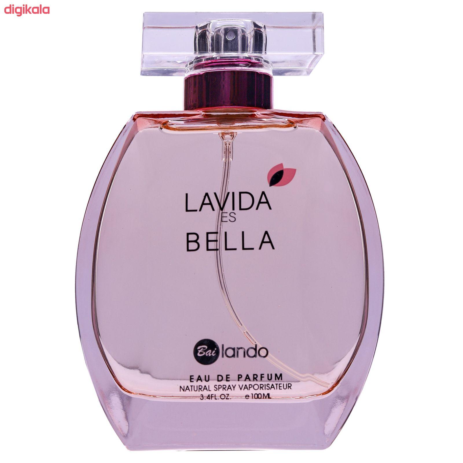ادو پرفیوم زنانه بایلندو مدل lavida es bella حجم 100 میلی لیتر