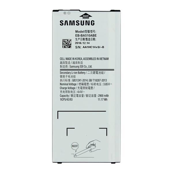 باتری موبایل مدل BA510ABE ظرفیت 2900 میلی آمپر ساعت مناسب برای گوشی موبایل سامسونگ Galaxy A5 2016