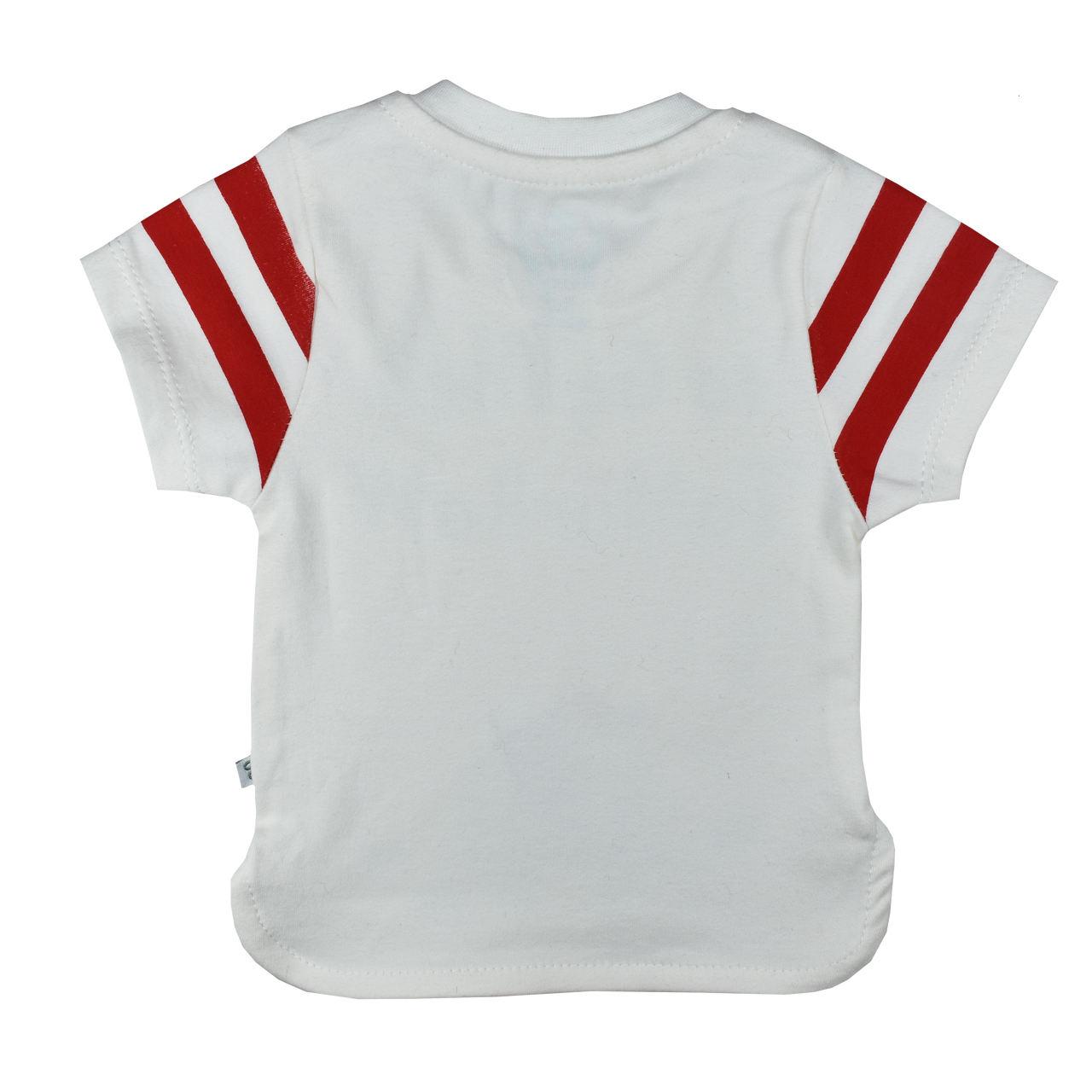 ست تیشرت و شلوارک نوزادی پوشیران کد 5511 -  - 3