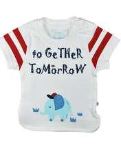 ست تیشرت و شلوارک نوزادی پوشیران کد 5511 -  - 6